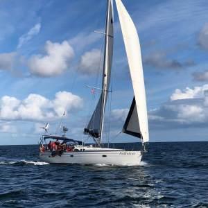Anthana segeln Ostsee