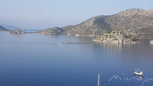 Overlooking Bozburun Bay Turkey