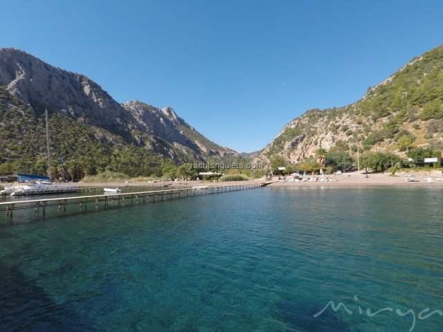 Ciftlik Bay Turkey