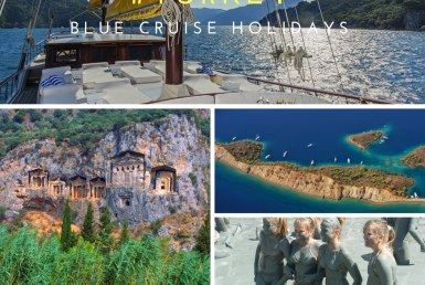 Turkey blue cruise holidays - Gulf of Fethiye