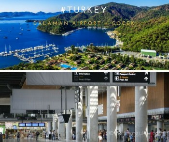 Turkey Dalaman International Airport + Gocek