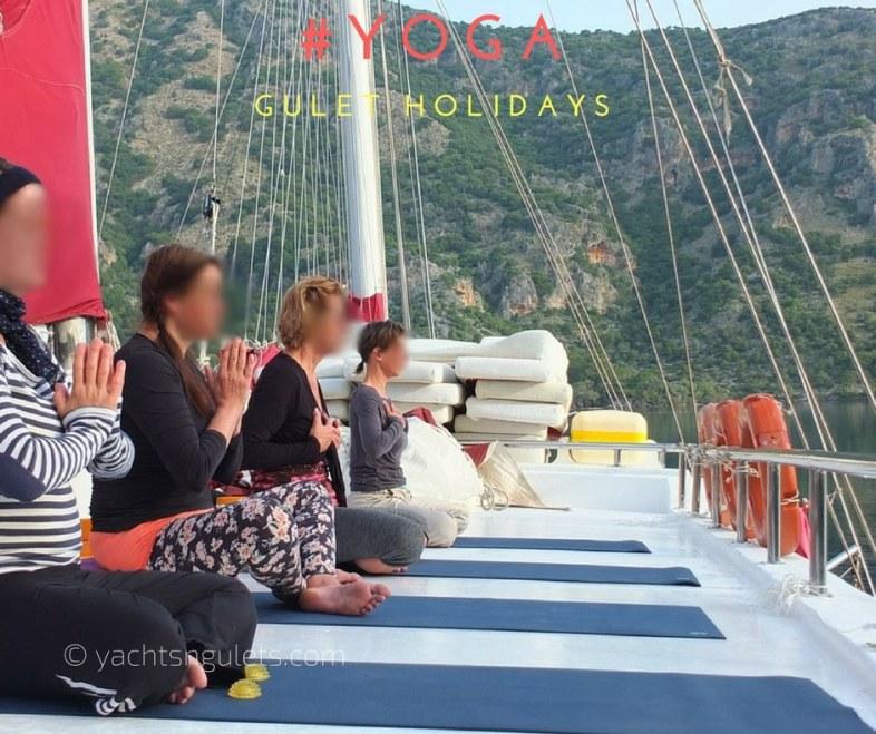 yoga gulet holidays