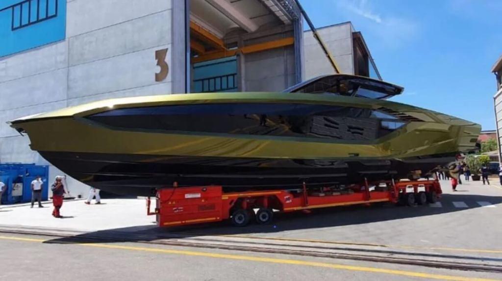 Conor McGregor, new, yacht, Tecnomar, Lamborghini, 63, The Italian Sea Group, 60 knots