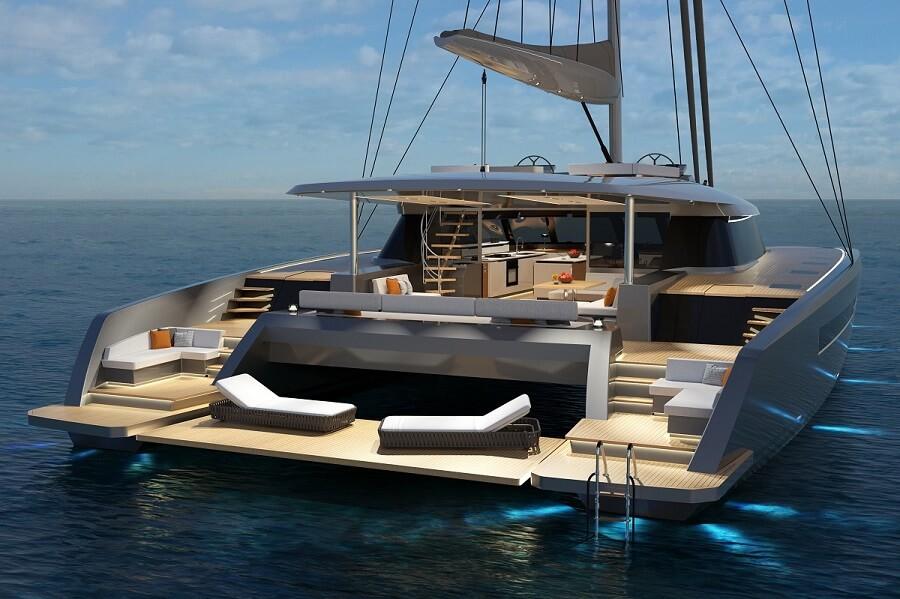 Berret-Racoupeau, Olivier Racoupeau, Waka 80, catamaran, sailing, La Rochelle, France, yacht, designer, PMG Shipyard, Philippe Guenat, Pattaya, Thailand