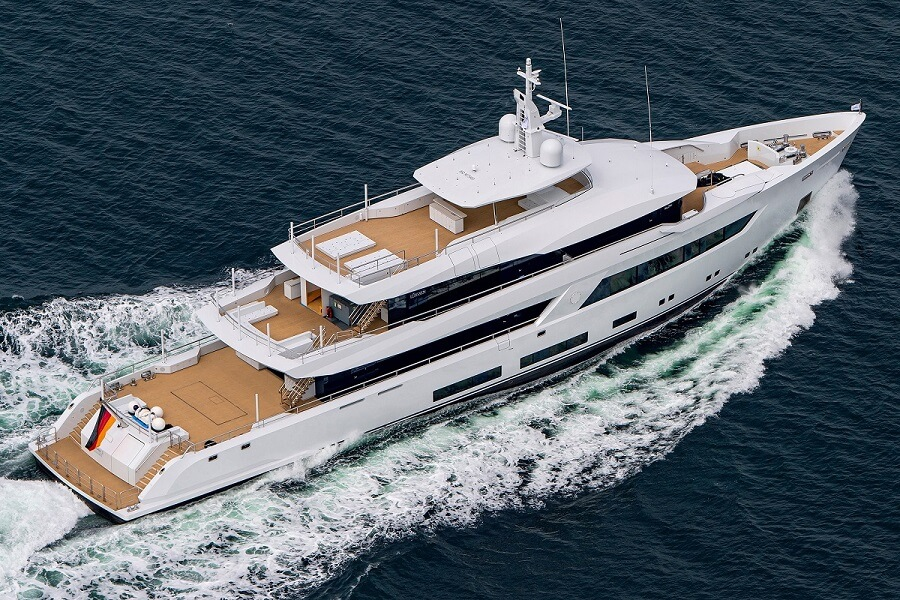 Lürssen, yacht, superyacht, megayacht, Project 13800, Monaco Yacht Show