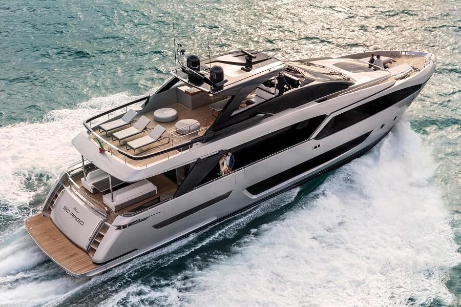 Riva, 90, Argo, Luxury, yacht, superyacht, motor yacht, Asia, Pacific, China, Hong Kong, Ferretti Group