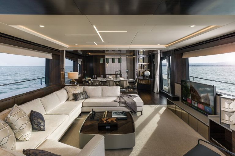 Sunseeker, 88, Yacht, superyacht, motor, power, British, builder, Cannes, Yachting Festival, Famous Five