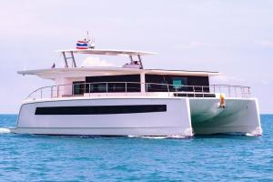 Silent-Yachts, Silent 60, solar power, solar-electric, catamarans, Farfalla Marine, Jason Hawkes, Thailand, Cambodia, Laos, Gulf Craft