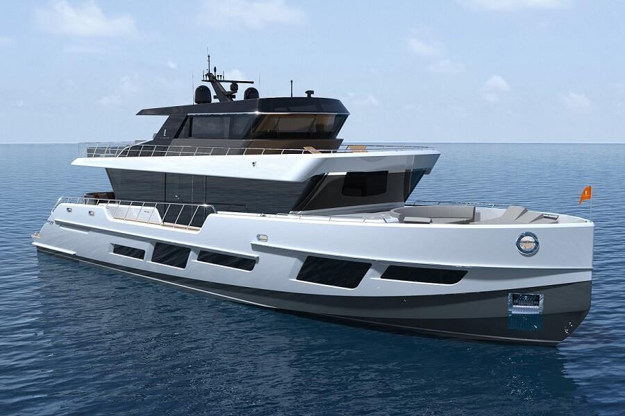 Camper & Nicholsons, agent, CLX96, CL Yachts, Hugo Van Schaik, Miami Yacht Show, flagship, Jozeph Forakis