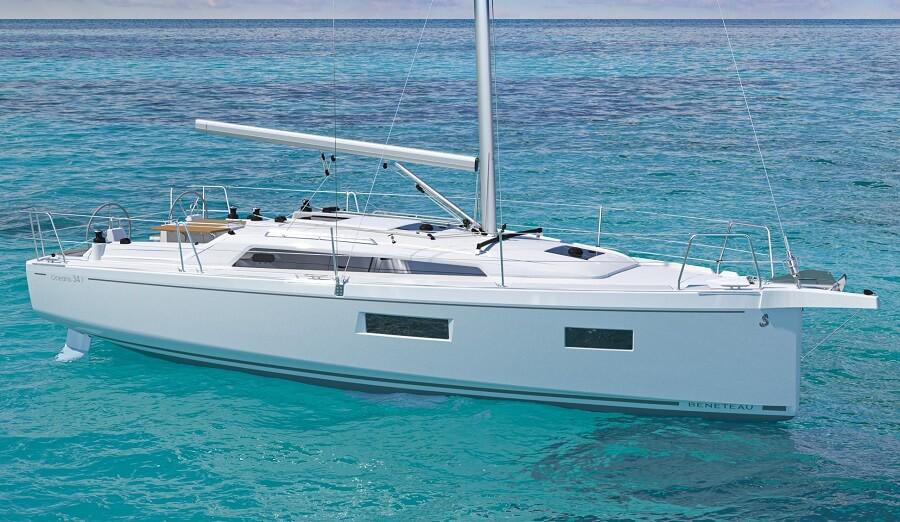 Beneteau, Oceanis, 34.1, Marc Lombard, sailing, yacht, boat, Nauta Design, Grand Pavois la Rochelle, Barcelona, show