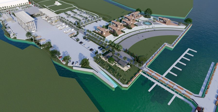 Riverdale, Marina, Bangkok, Patum Thani, MBK, berths, service, Chao Phraya, Ben McCrory, plaza, shopping, golf
