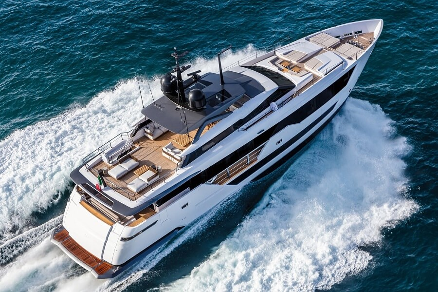 Custom Line, 106', Ferretti Group, sold, sale, Asia, Asia-Pacific, Fraser Asia, Italy