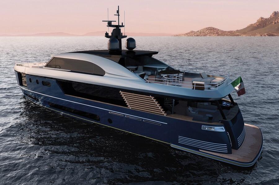 Azimut, Grande, 26 Metri, 36 Metri, Trideck, Cannes Yachting Festival, Monaco Yacht Show, Verve 42, Magellano, Marine Italia