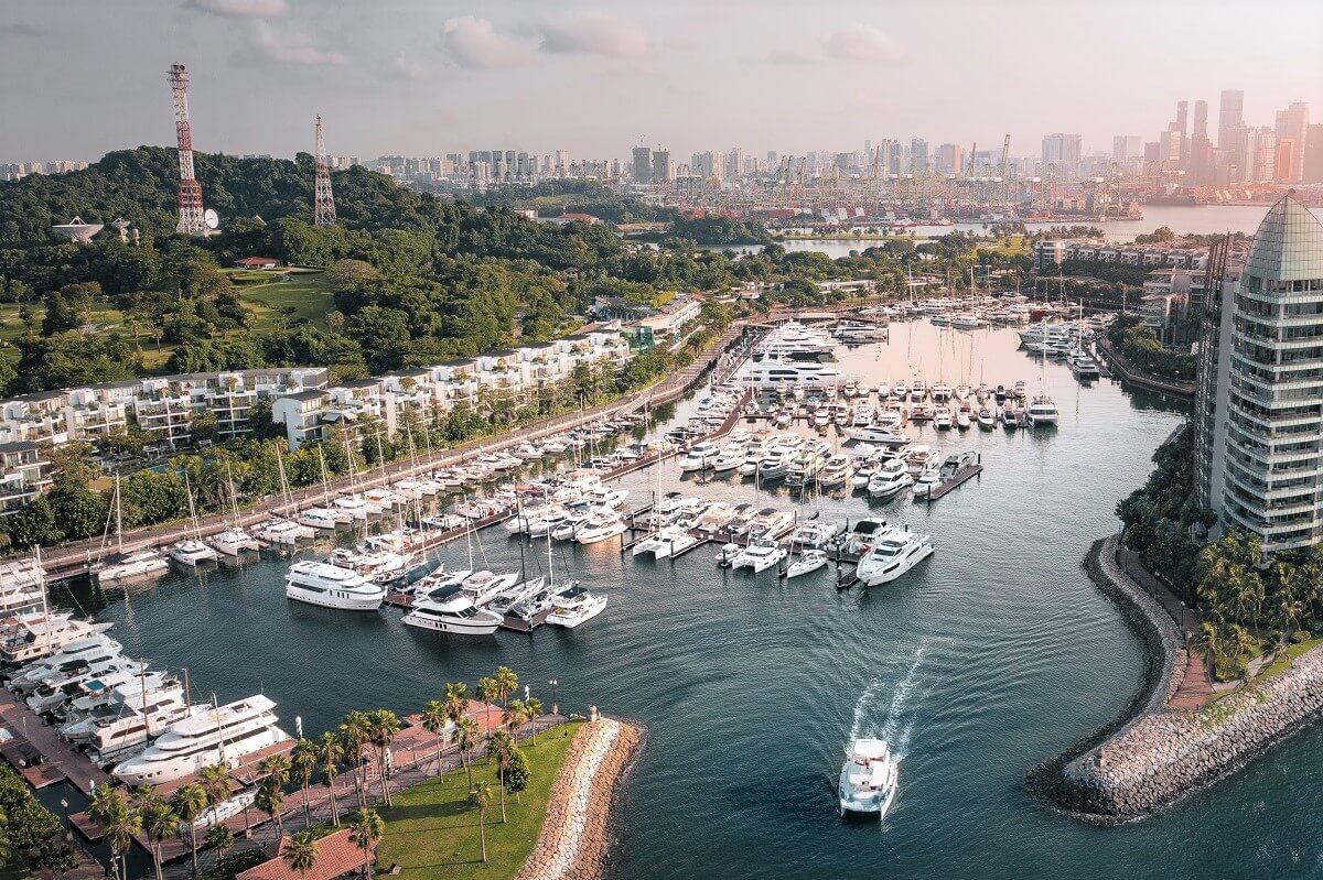ONE°15 Marina, Sentosa Cove, Singapore, Arthur Tay, SUTL, reconfiguration, upgrade, Nirup Island, Puteri Harbour, Covid, superyacht, yacht, boat, marina