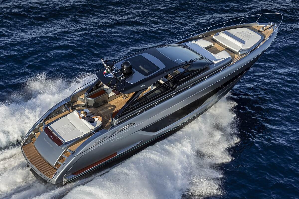 Riva, Diable, 68, new, Mauro Micheli, Ferretti Group, Open, Dolceriva, Rivale, hard top, design, yacht, Cannes Yachting Festival, boat, show
