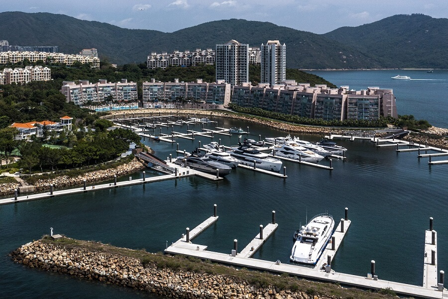 Lantau Yacht Club, Discovery Bay, marina, Gold Anchor, accreditation, award, status, Marina Industries Association, MIA, Ivan Lee