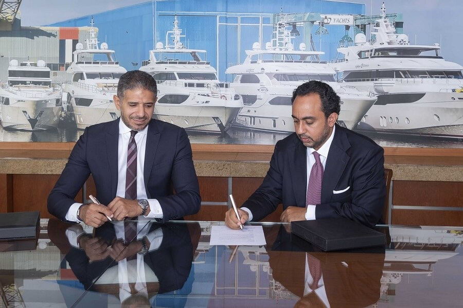 Gulf Craft, SAP, partner, Talal Nasralla, digital, software, UAE, yacht, boat, owner, delivery, prototype, production, Zakaria Haltout