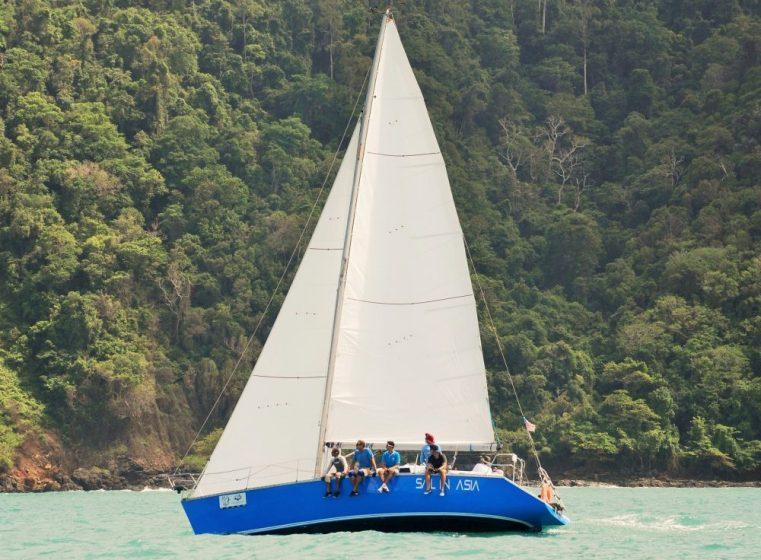 New racing sails