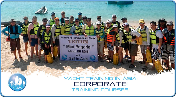 Corporate Sailing Events Thailand