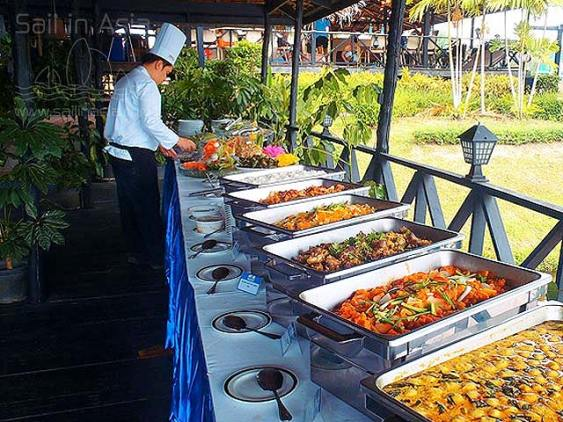 teambuilding buffet in Pattaya