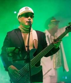 yacht rock ybn scotty mcyachty captains hat bass sing vocal green turtle neck taste of anaheim