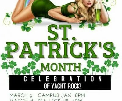 st. paddy's day march 2019 yacht rock yachty by nature costellos sea legs tropicana the fifth anaheim los angeles yacht rock band soft rock groovy smooth 70's and 80's toto steely dan hall and oates