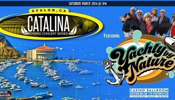 catalina island yacht rock band bands yachty by nature smooth captains pacific ocean casino pavillion concert series avalon los angeles boat skipper cruise harbor sailing anchor