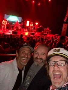yacht rock bands yacht rock revue los angeles wiltern theater smooth captains pink hawaiian shirt attire clothes outfits