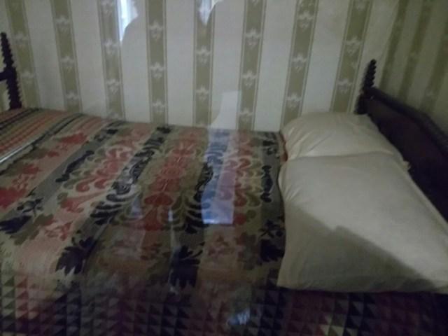 リンカーンが使ったベッド