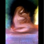 "Madonna, oil on canvas, 8""x10"" 2006"