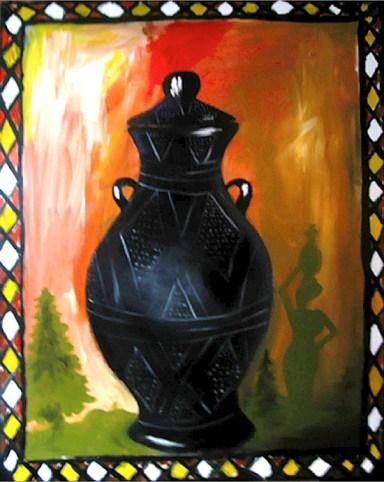 """Life_Line: Acrylic on Canvas: 30""""x48"""" 2007"""