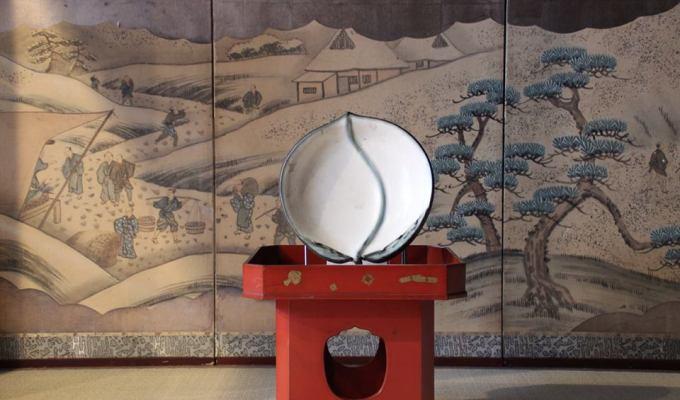"Setsubun ""Peach"" Decoration related to Kojiki"