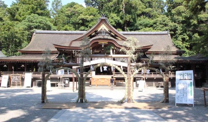 [6月下旬]奈良 大神神社 茅の輪くぐり