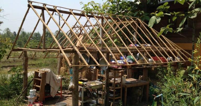タイ第2回:帰国子女、タイ北部で2週間のパーマカルチャー農業ボランティアを経験するでのパーマカルチャー農業ボランティア