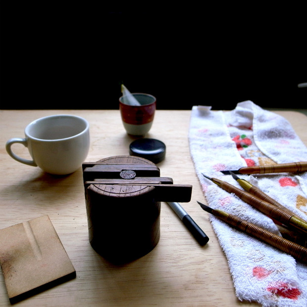 """職人だって旅をしながら仕事ができる、""""旅するハンコ屋""""  京都に参上!"""