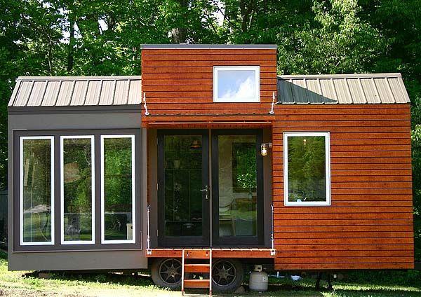 一年を通して暮らせる、ノッポで小さなタイニーハウス「Tall man's tiny house」