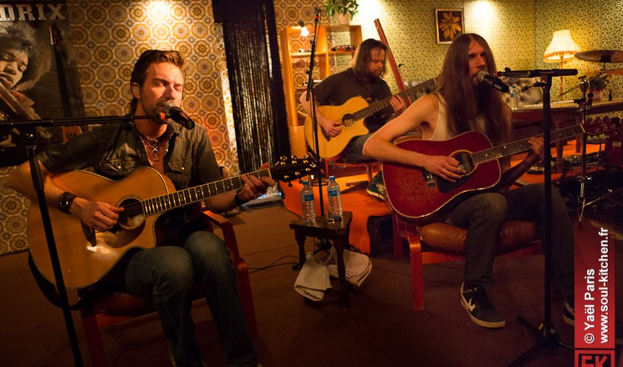 photos concert : Pain Of Salvation : Accoustic Tour @ Chez Paulette, 14 Avril 2013