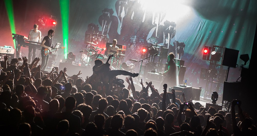 Photos concert : Foals + Everything Everything @ L'Autre Canal