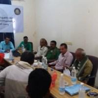 دائرة الشهداء والجرحى في الانتقالي تعقد لقاءً تشاورياً مع رئيس دائرة أبين والمدراء في المديريات