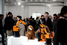 """Opening event of """"Machines for Living"""""""