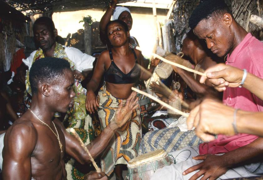 haitian drumming
