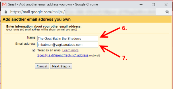 Gmail Add Another Email You Own