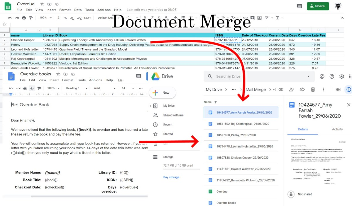 Document Merge using Google Apps Script