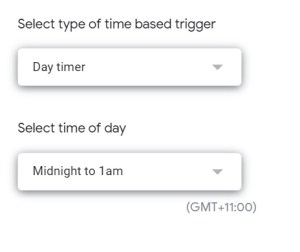 Add GAS trigger removeEditors time driven details