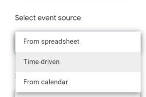 Add GAS trigger removeEditors time driven