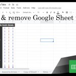 Google Sheets Beginners – Creating Sheet Tabs (14)