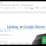 Google Sheets Beginners: Linking (21)