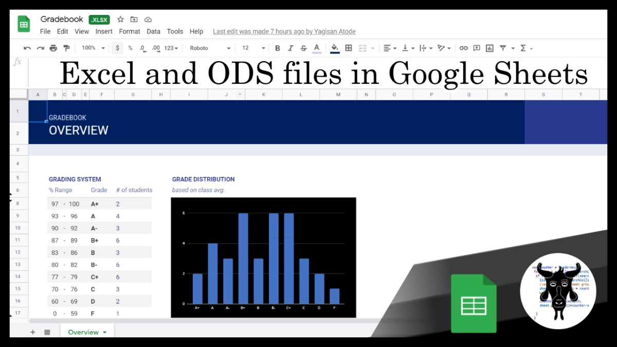 Google Sheets Beginners: Editing Excel and ODS format files in Google Sheets  (31)