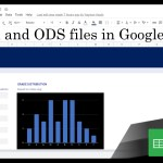 31 Editing Excel and ODS format files in Google Sheets