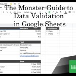 The Monster Guide to Data Validation in Google Sheets: Free Course